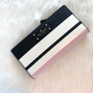 Kate Spade Grove Street Classic Stripe Wallet
